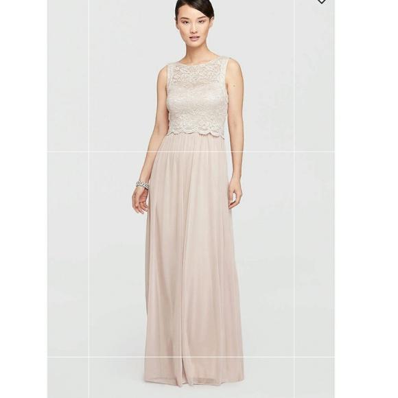 Jcpenney Dresses Openback Blush Prom Dress Poshmark